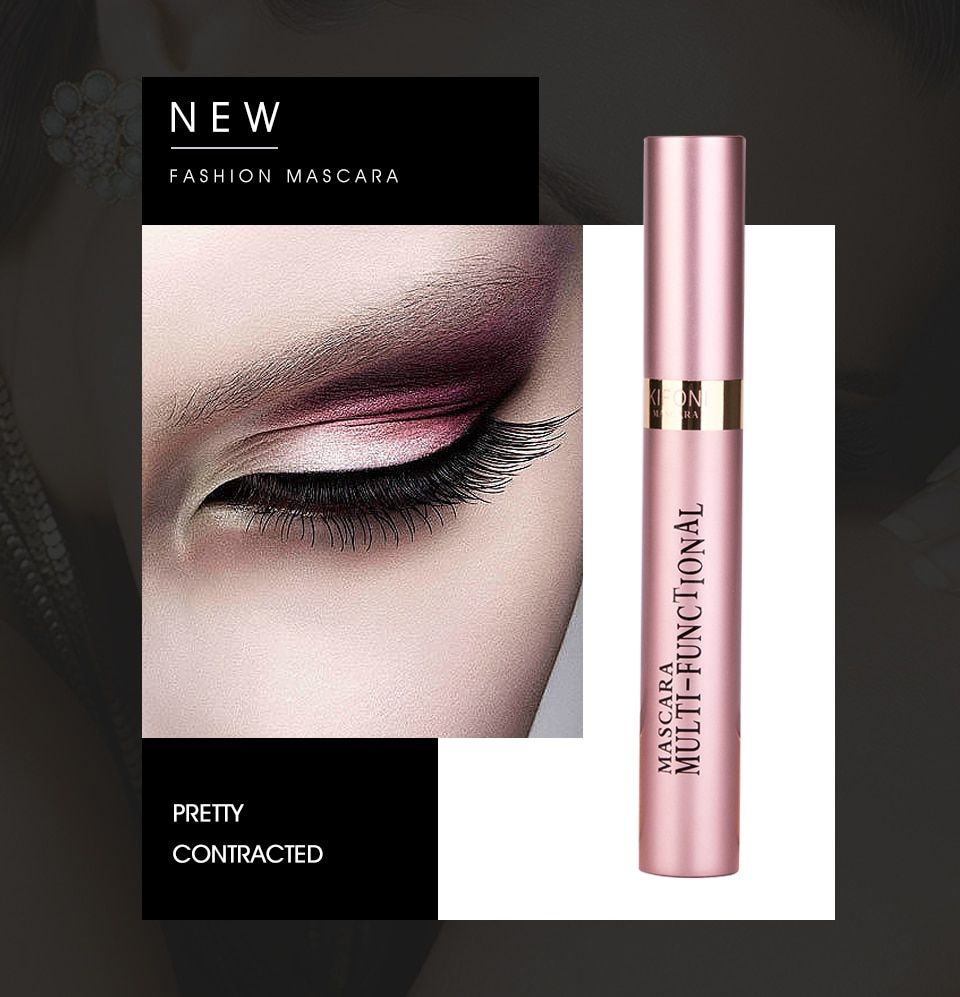 d507ba96f4c KIFONI makeup 4D Silk Fiber Lash Mascara Waterproof Rimel Mascara Eyelash  Extension Black Thick Lengthening Eye