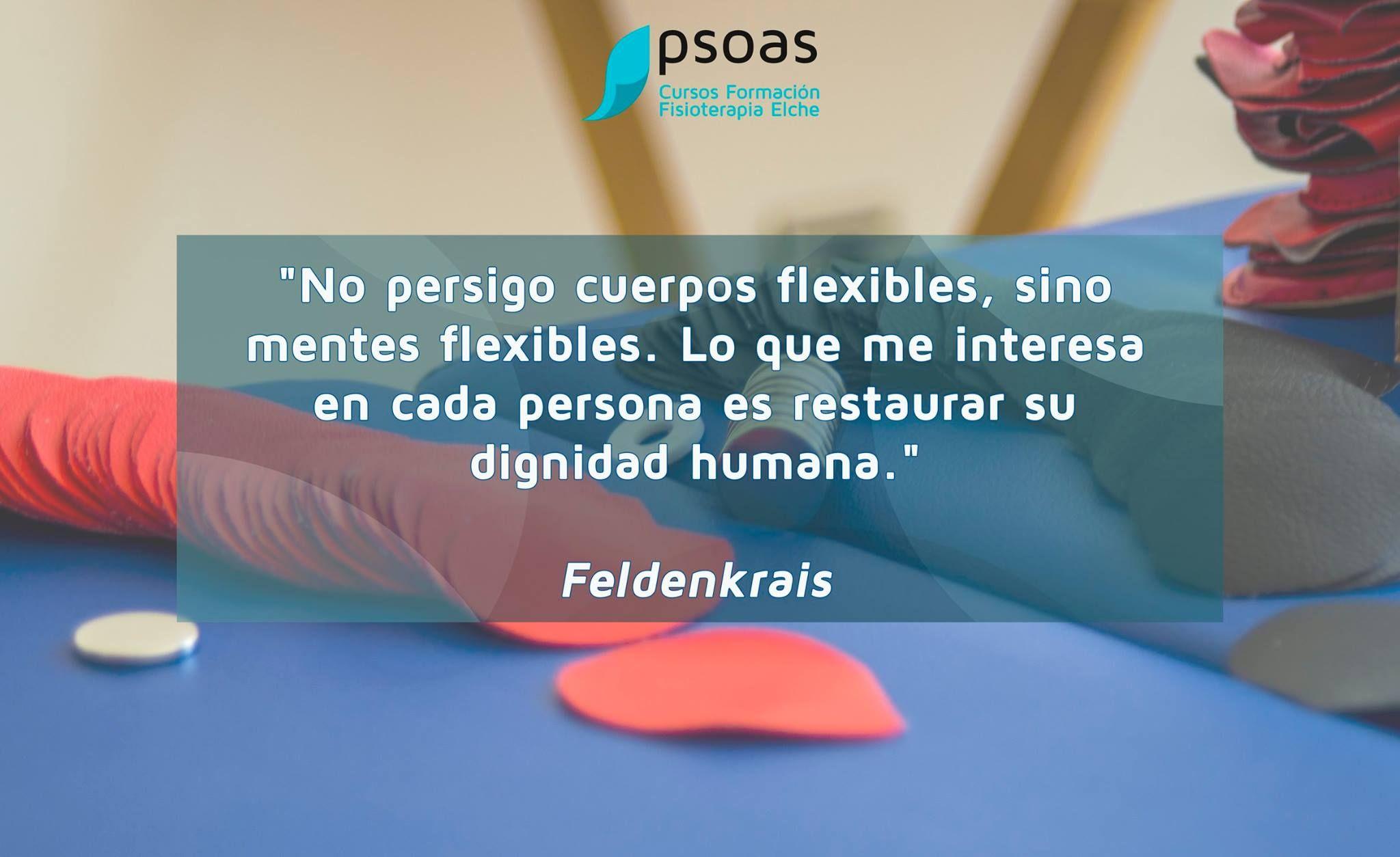 No persigo cuerpos flexibles sino mentes flexibles #osteopatia #fisioterapia
