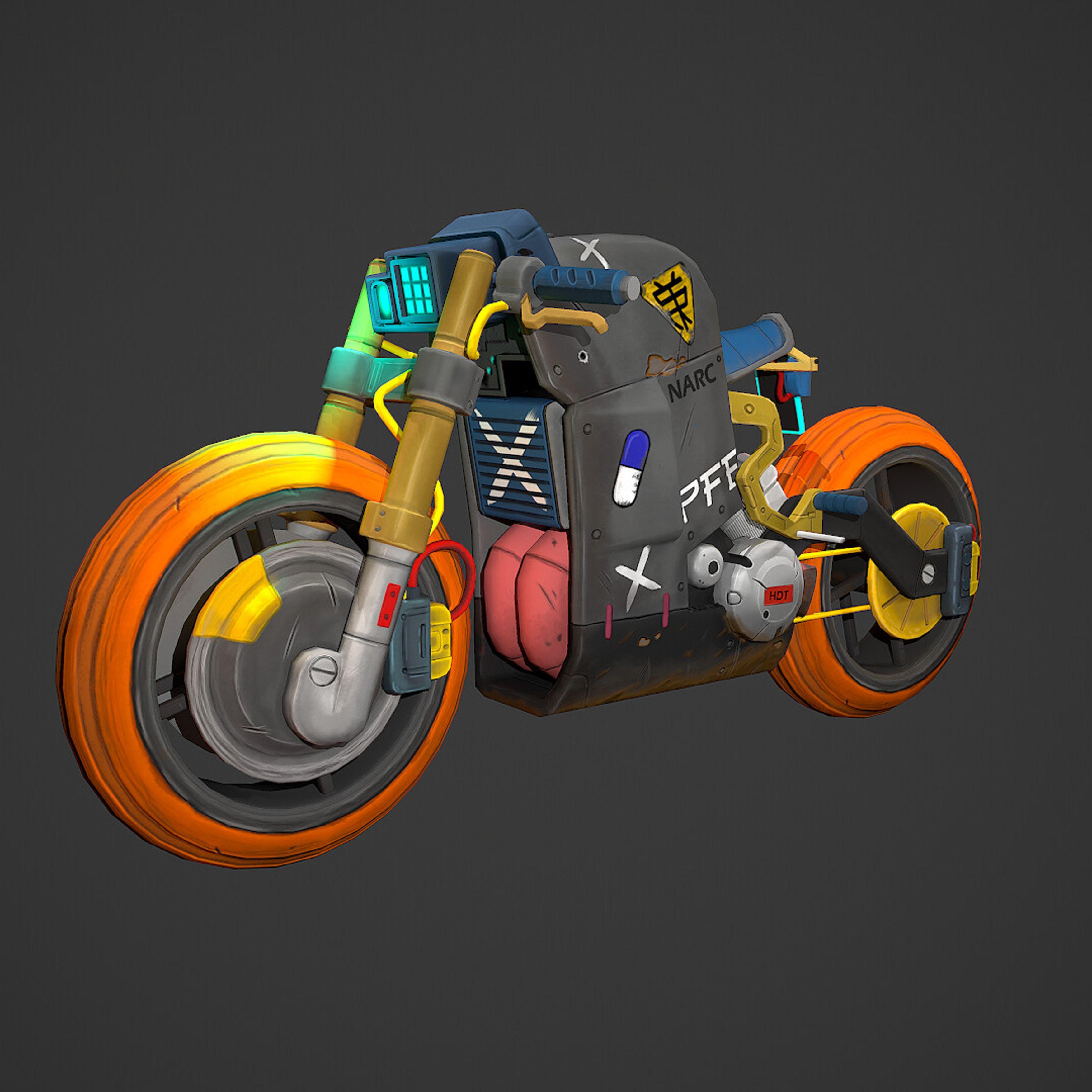 11+ Cyberpunk motorcycle ideas