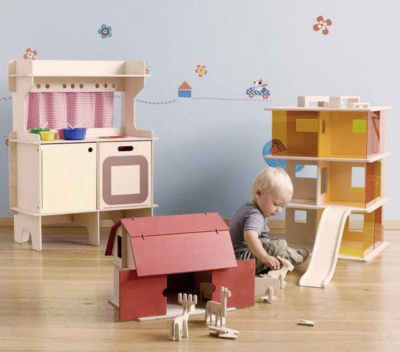 Cocinitas de madera de diseño para niñas | Inspiracion Niños ...