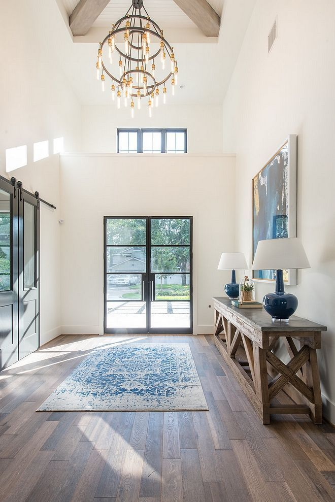 modern farmhouse inspiration wall color is toque white on gorgeous modern farmhouse entryway decorating ideas produce a right one id=56062