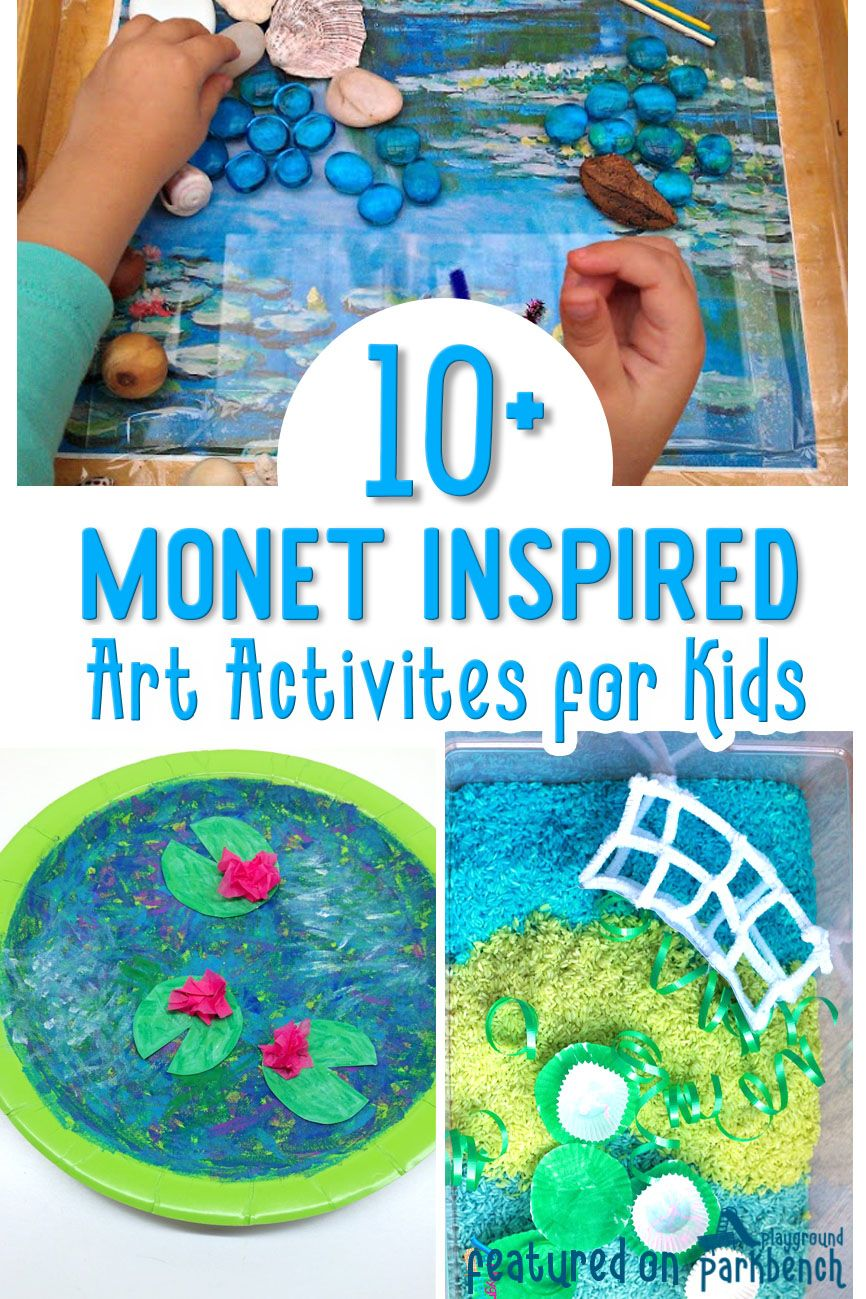 Photo of 10+ Awesome Monet Inspired Art Activities for Kids