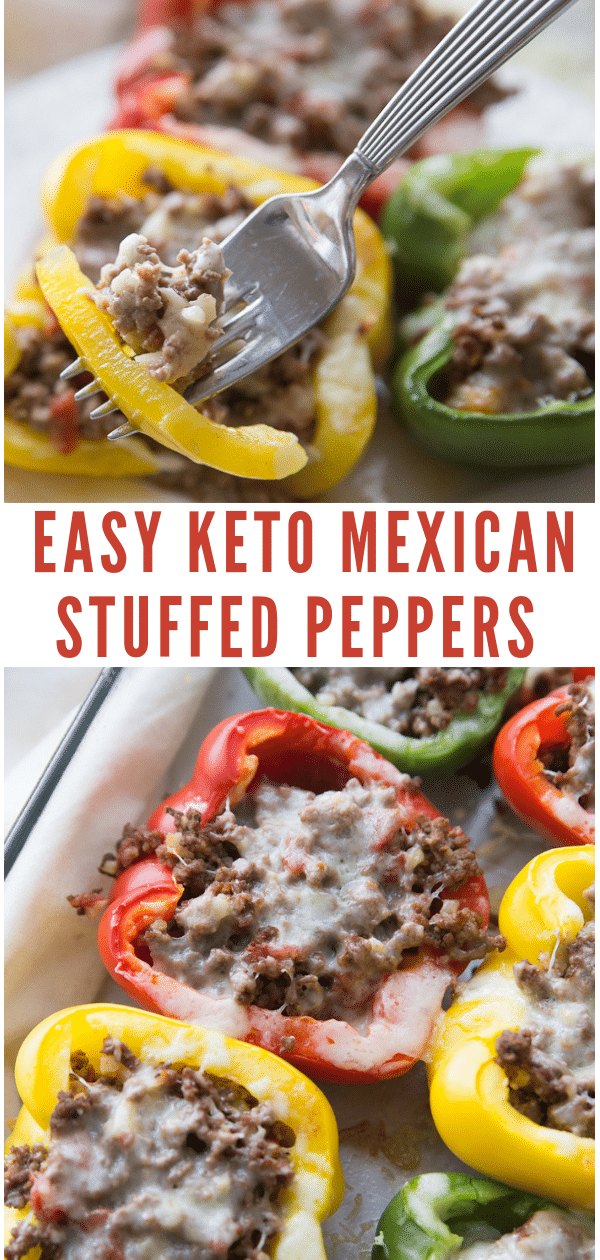 Keto Stuffed Peppers Mexican Style Recipe Stuffed Peppers Peppers Recipes Mexican Stuffed Peppers