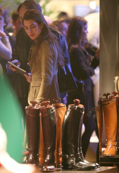 Charlotte Casiraghi Gucci Masters 2011