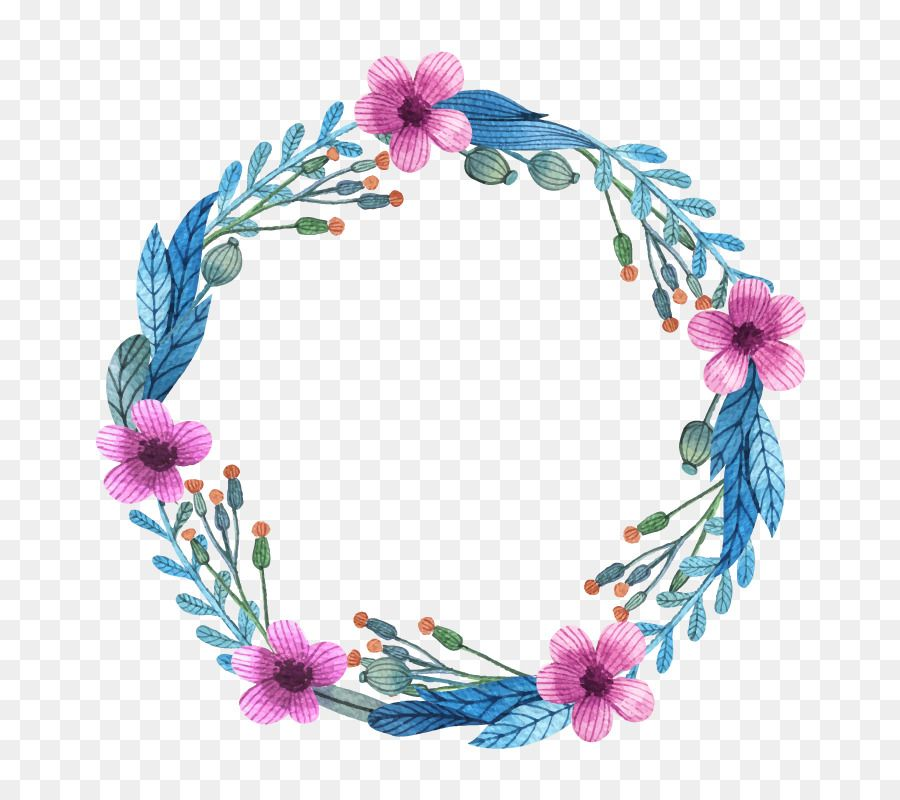 Drawing Circular Wreath 19 Watercolor Flower Oval Png And Vector With Transparent Background For Free Download Dibujo De Flor Tumblr Acuarela Floral Flores Pintadas