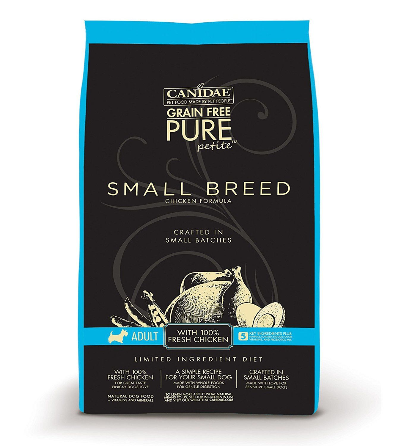 canidae puppy food grain free
