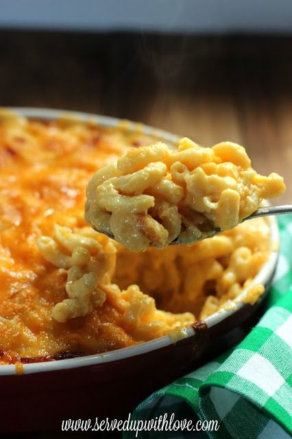 Served Up With Love: Melissa's Macaroni & Cheese
