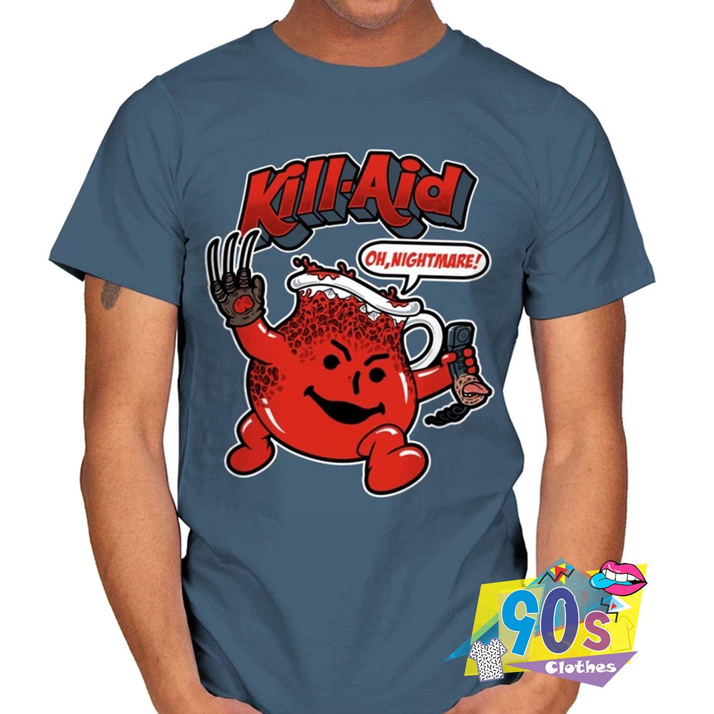 Kill Aid Oh Nightmare T shirt #decadedayoutfits