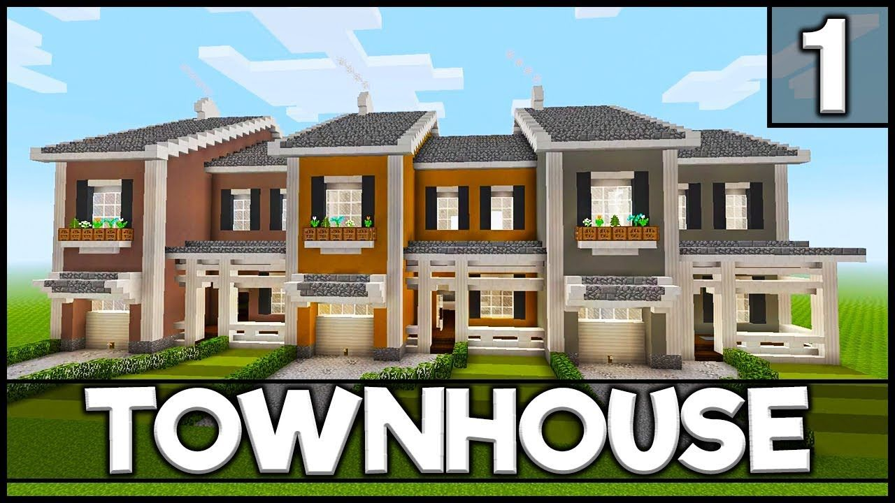 Minecraft How to Build a Townhouse