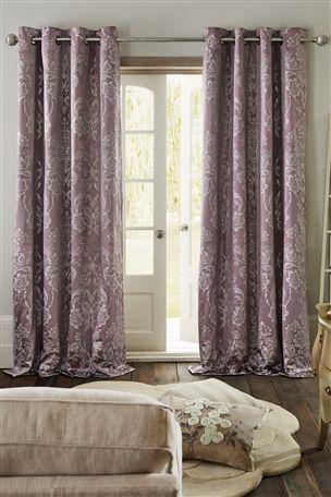 long purple curtain p curtains set light mauve