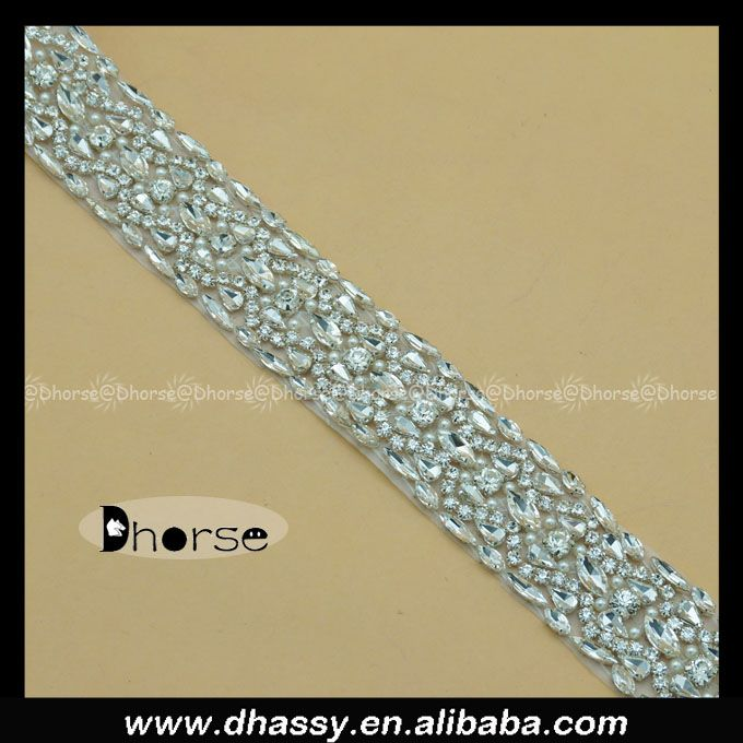 Wholesale Clear DIY Stones Craft Rhinestone Trim,Transparent glass stone rhinestone belt, View rhinestone trimmings, Dhorse Product Details from Guangzhou Dhorse Garment Accessory Firm on Alibaba.com