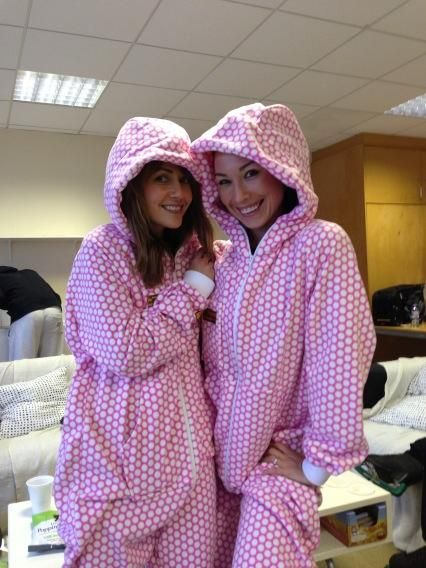 Dancing On Ice Onesie  Samia Ghadie and Robin Johnstone  Sherbert Pink Honeycomb