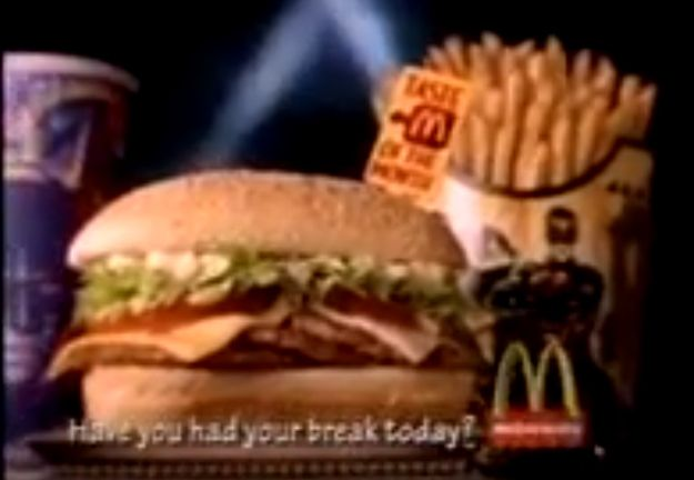 Triple Double Burger Mcdonald Menu Discontinued Food Retro Recipes
