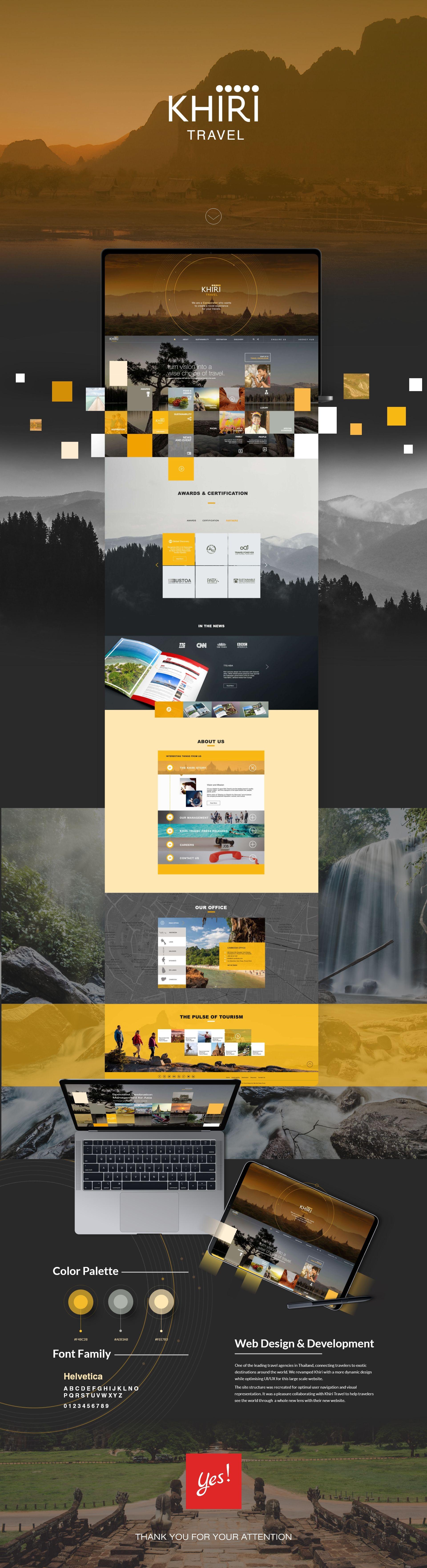 Khiri Travel Web Design Web Development Design Web Design Studio