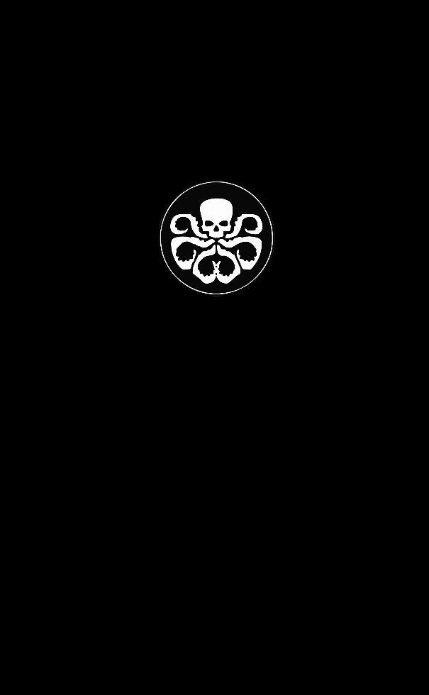 Hydra Phone Wallpaper Black By Gonkbot D500cti Jpg 605 980 Marvel Wallpaper Oneplus Wallpapers Wallpaper