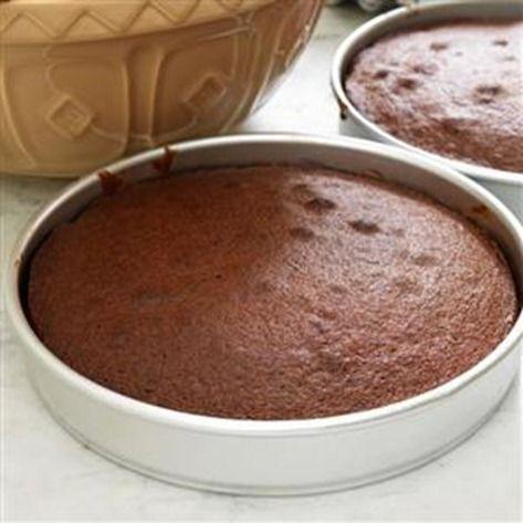 Tarta de chocolate facil