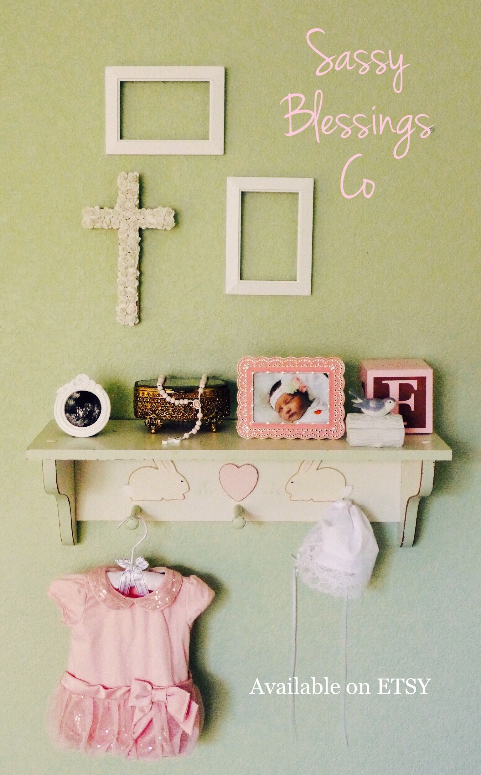 Wooden wall cross/ rustic wooden wall cross/ floral wooden wall ...