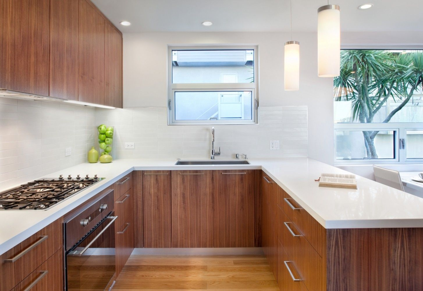 Mid Century Remodel Kitchen Design Modern U Shaped Kitchens Kitchen