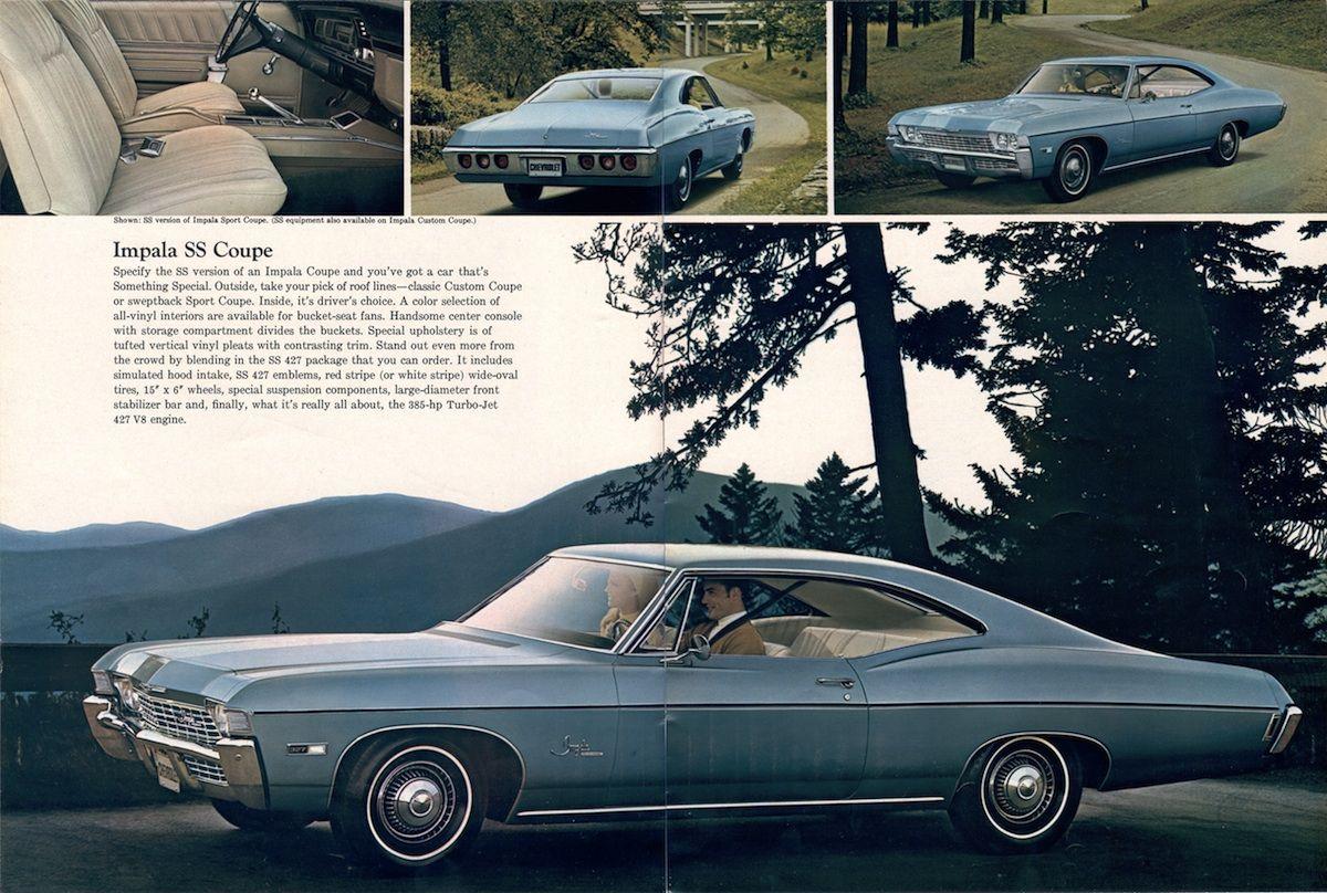 Impala 1968 chevy impala parts : GM 1968 Chevrolet Sales Brochure | Chevrolet Impala 1968 ...