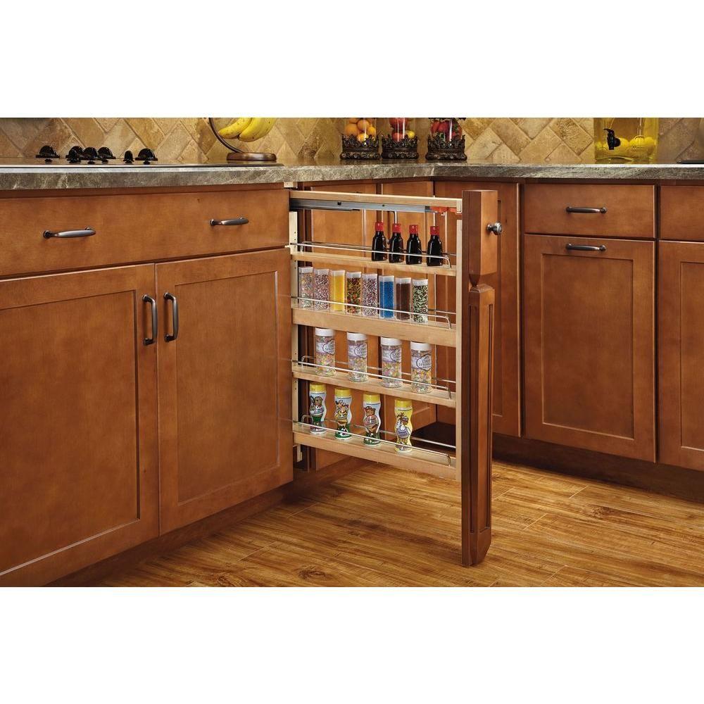 Rev-A-Shelf 10 in. H x 10 in. W x 210 in. D Pull-Out Between Cabinet