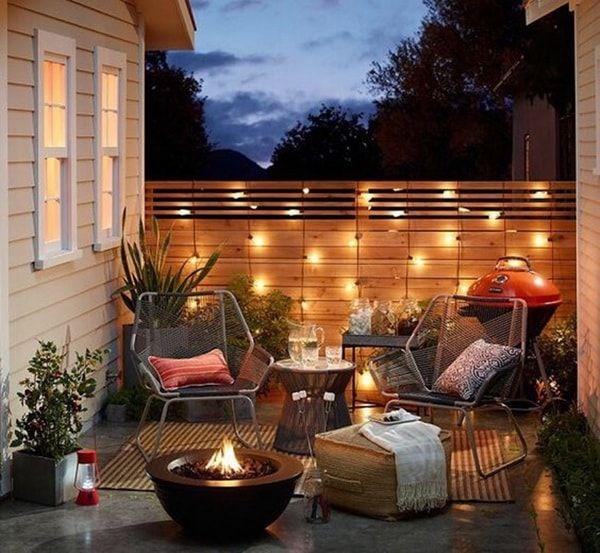 Iluminación exterior. Ideas para iluminar balcones y terrazas.