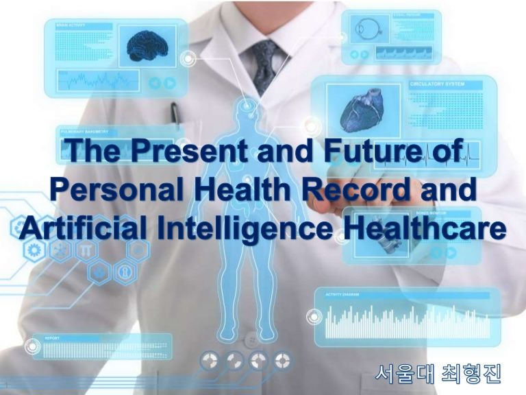 1. Why Personal Health Record and Artificial Intelligence ? 2. Obesity Example 3. Personal Health Record  1) Genetic Data 2) Electrical Health Records 3) Natio…