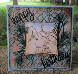 Rebecca from The Rock Crafty Corner: Manly Birthday