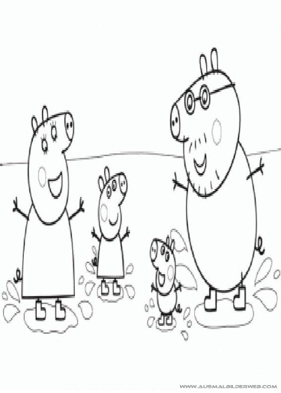 Ziemlich Peppa Pig Malvorlagen George Ideen - Beispiel ...