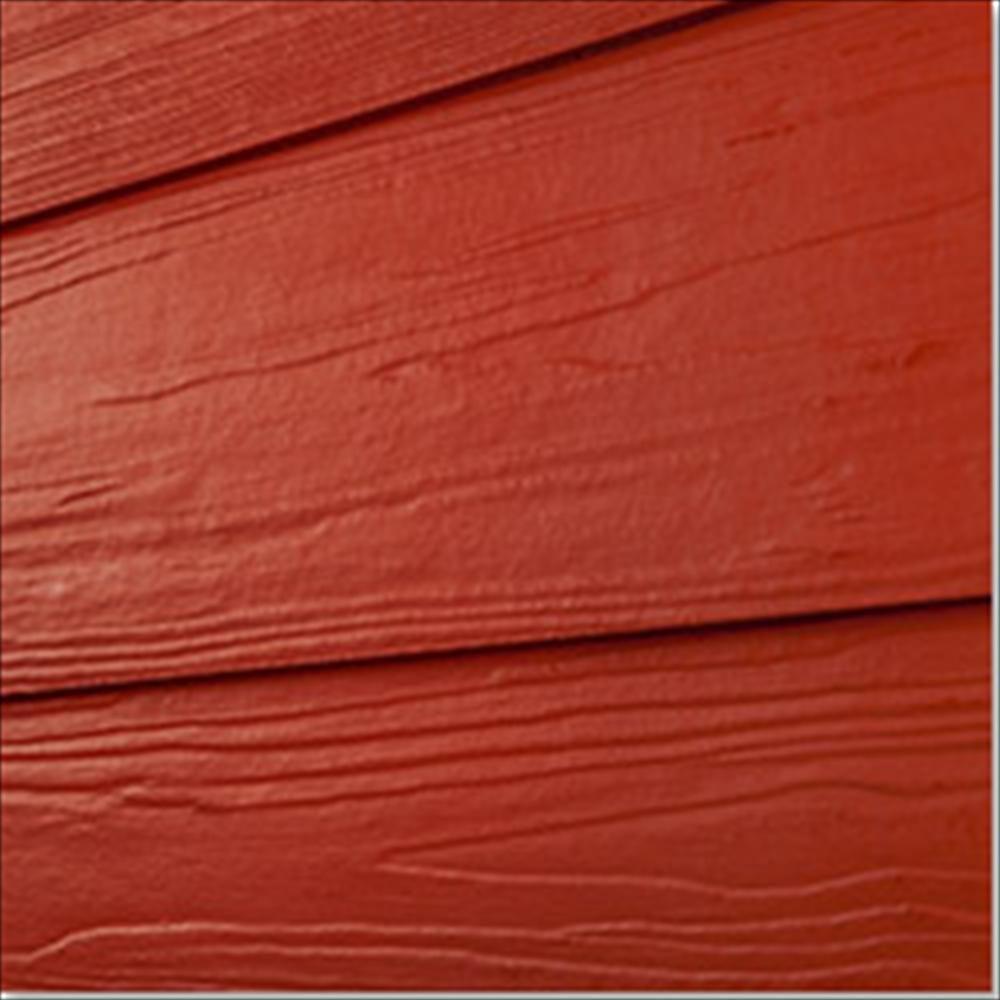 Fiber cement siding premium coat solid cement wood grain and