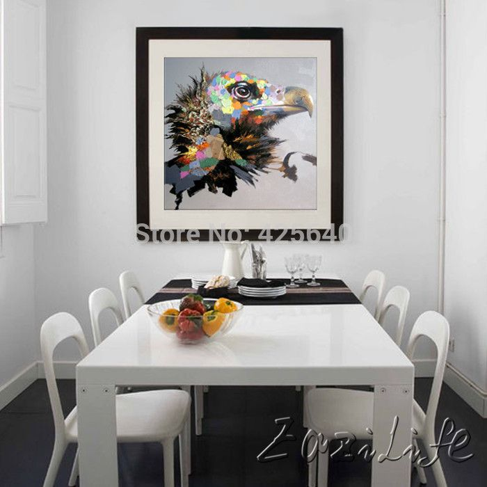 Oil painting on canvas wall pictures paintings for living room wall art canvas pop art eagle
