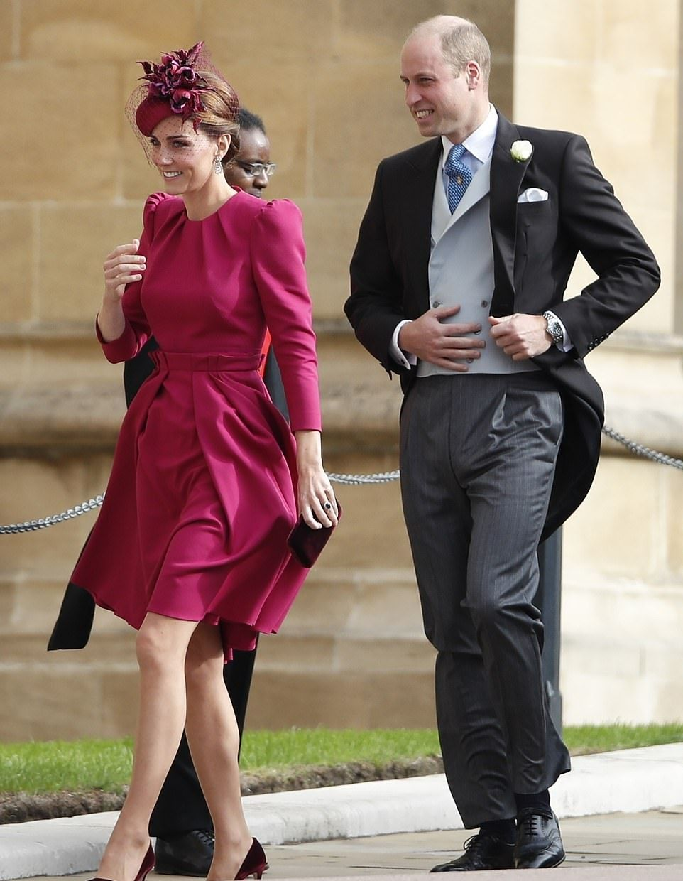 Gorgeous Pink Mcqueen For Duchess Of Cambridge At Royal Wedding