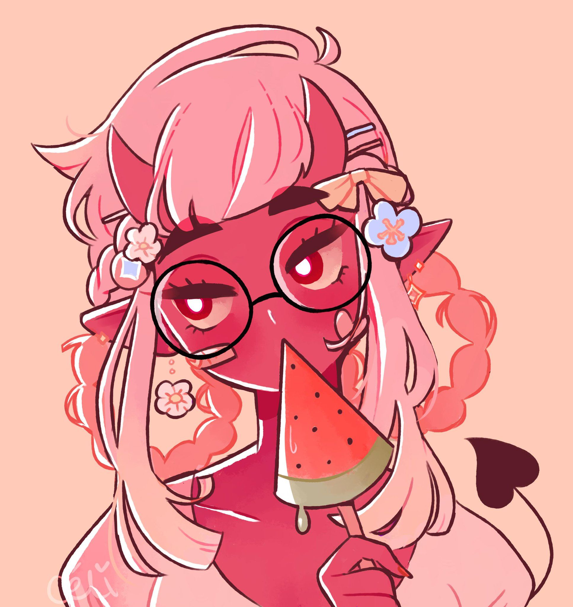Celi Blacktober On Twitter Cartoon Art Styles Character Art Cute Art