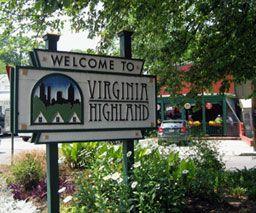 Welcome To One Of Atlanta S Most Popular Neighborhoods Virginia Highland Virginia Highlands Atlanta Atlanta Neighborhoods Atlanta Real Estate
