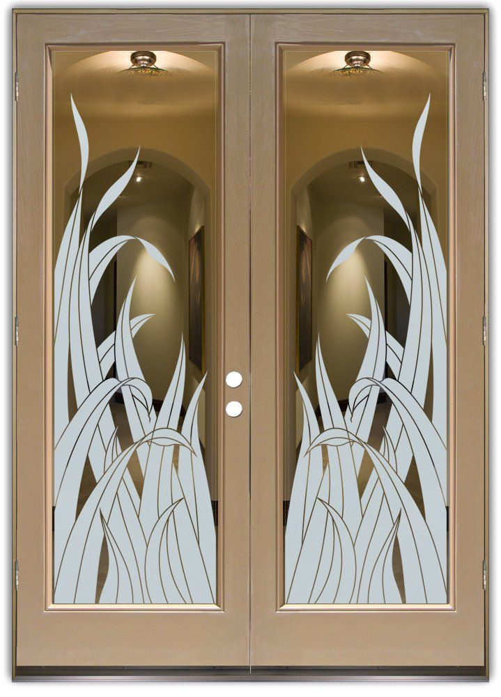 Glass Entry Doors Stylish Glass Etching In Any Decor Entry Doors With Glass Etched Glass Door Door Glass Design