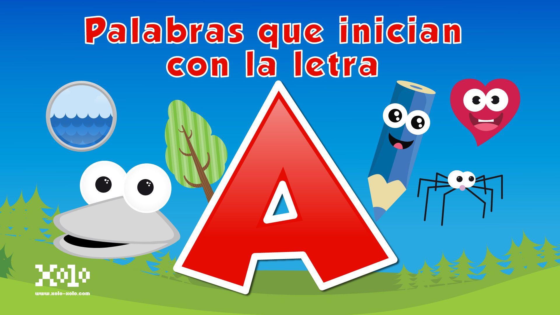 Palabras que inician con la letra A en español para niños