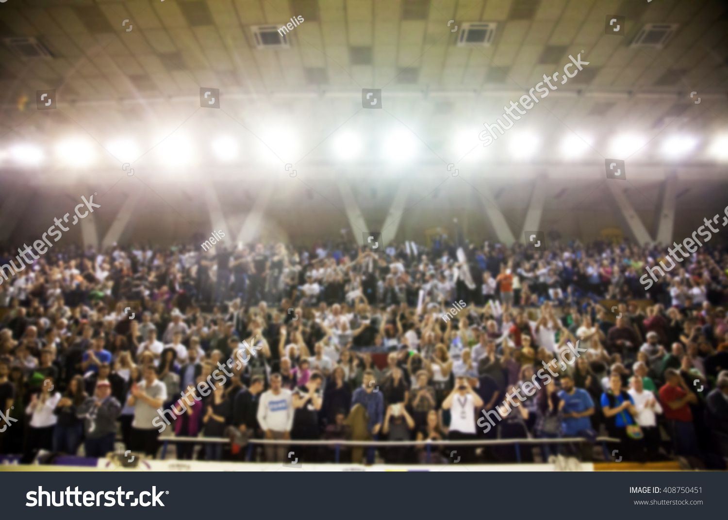 Blurred Background Of Crowd Of People In A Basketball Court Blurred Background Background Basketball Court
