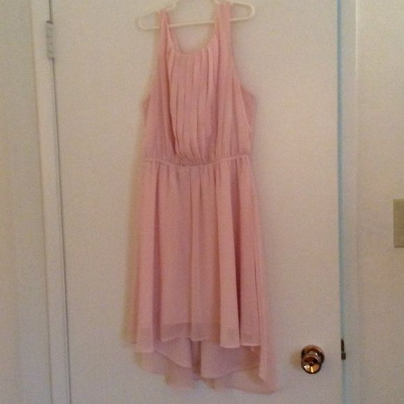 Pink high low dress Make me an offer :) Candie's Dresses High Low