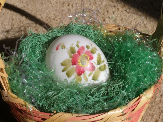 Victorian  hand blown  milk glass  Easter Egg  by editharlene, $45.00
