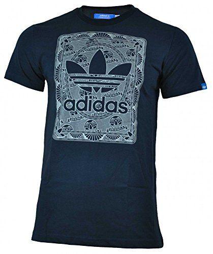 ea5419aabb4 Adidas Credit Card Trefoil Tee hombres algodón camisa original camiseta  Azul  camiseta  friki  moda  regalo