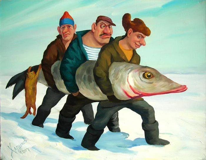 прикольная картинка рыба в виде доктора удачливости партнерши