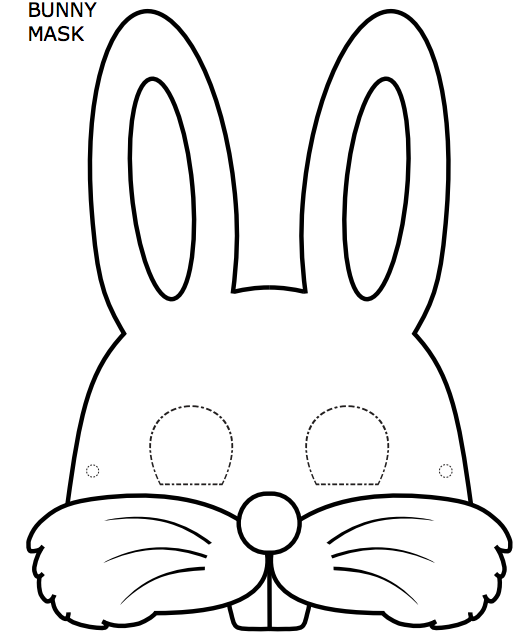 image regarding Printable Bunny Mask known as Wondering of accomplishing a very little performing within your ESL cl? Receive a