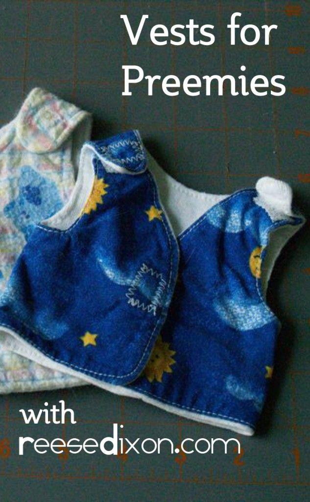 Vests for Preemies | NÄHEN: Kinderkleidung (kostenlose Schnittmuster ...