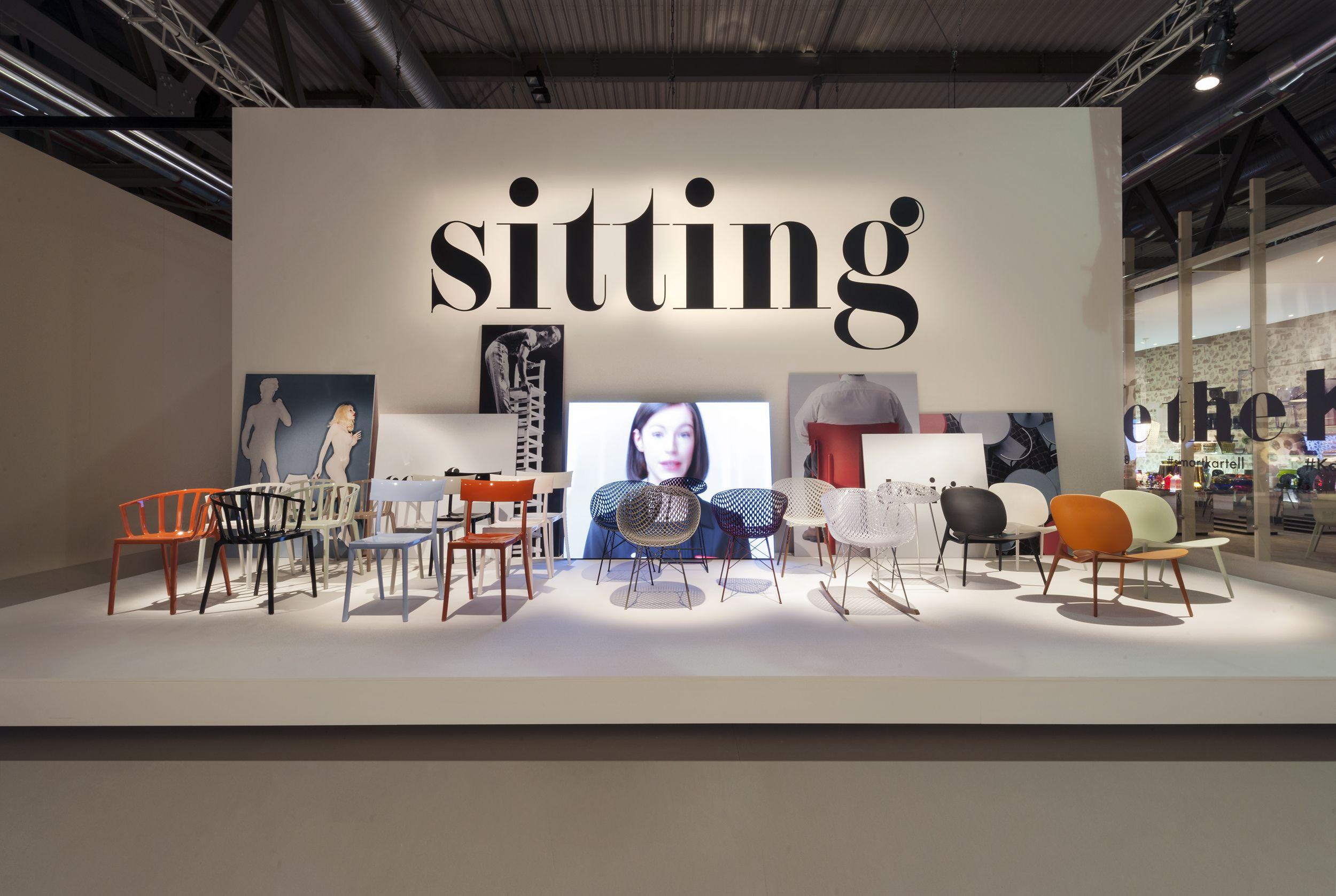 Stand Kartell Salon Milan 2018 Mobilier Design Design Contemporain