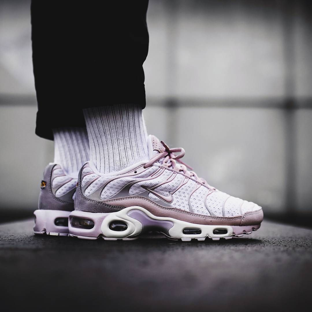 46861e09a5 Nikelab Air Max Plus TN: Rose/Off White | Kicks | Sneakers nike ...