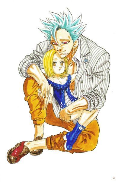 Ban x Elaine (BanLaine)   Anime funny, Anime memes, Otaku