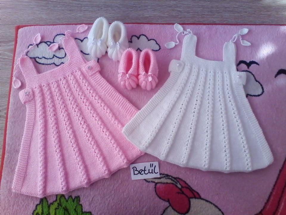 Babyset Baby Knitting Patterns Bebek Elbise Modelleri Bebek Etek