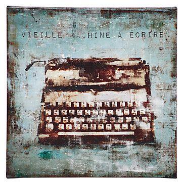 Z Gallerie - Vintage Typewriter