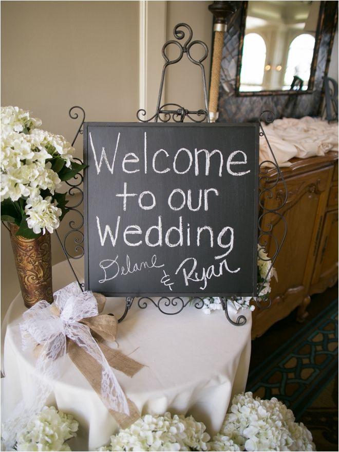 Rustic Chalkboard At Wedding Reception Entrance Photo Sarah Ainsworth