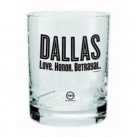 Dallas Rocks Glass