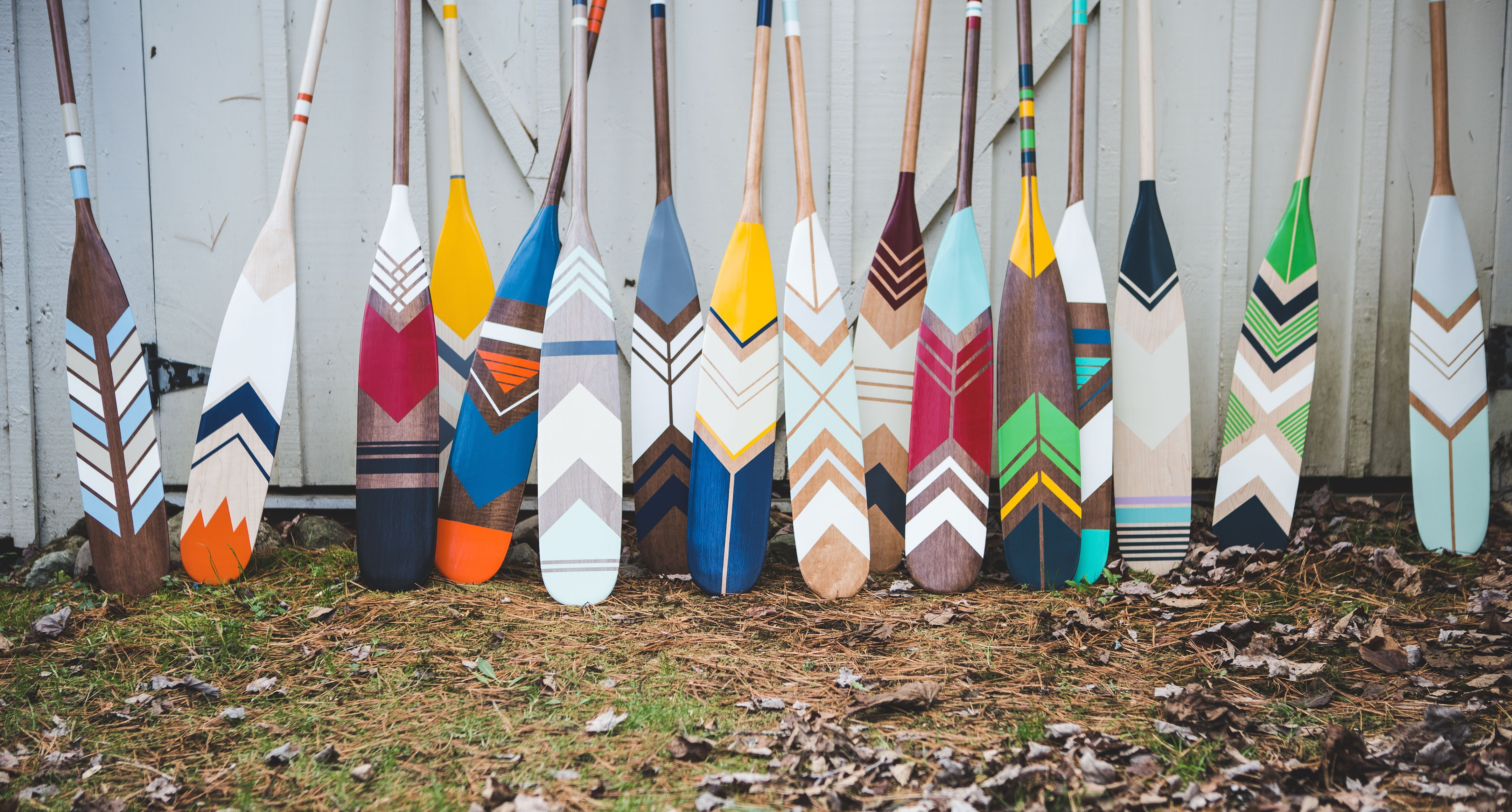 Canada S Finest Hand Painted Canoe Paddles Painted Oars Painted Paddles Canoe Paddle Decor